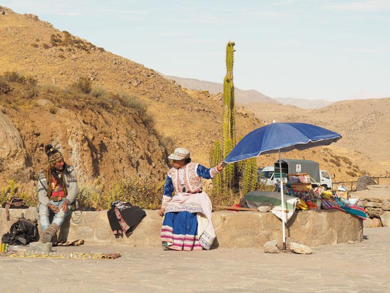 Reisefotografie Urlaubsfotos Tipps | Indigene im Colca Canyon