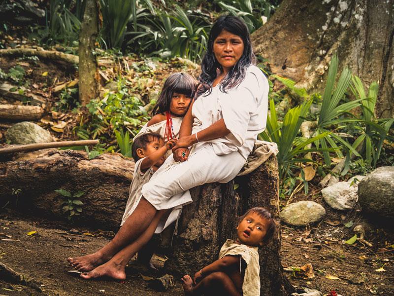 Reisefotografie Urlaubsfotos Tipps | Indigene im Tayrona Park