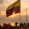 Gruppenreisen für Alleinreisende & Erlebnisreisen I Kolumbien Ablauf Sonnenuntergang in Cartagena im Café del Mar