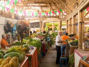 Gruppenreisen für Alleinreisende & Erlebnisreisen I Kolumbien Ablauf Tag 2 Besuch des Marktes in Cali