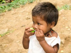 Gruppenreisen für Alleinreisende & Erlebnisreisen I Kolumbien Ablauf Tag 16 Wanderung zur Ciudad Perdida und Besuch der Kogi Indianer