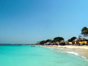 Gruppenreisen für Alleinreisende & Erlebnisreisen I Kolumbien Ablauf Tag 21 Tagesausflug an den paradiesischen Karibikstrand Playa Blanca