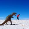 Gruppenreisen für Alleinreisende I Anden Ablauf lustige Fotos in der größten Salzwüste der Welt