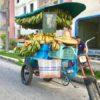 Fahrrad mit Bananen und anderen Früchten in Santiago de Cuba auf Kuba - Gruppenreisen für Alleinreisende & Erlebnisreisen | QUERIDO MUNDO