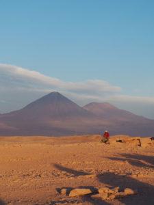 Gruppenreisen für Alleinreisende I Anden Sonnenuntergang im Valle da la Luna