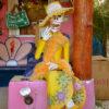 Gruppenreisen für Alleinreisende I Mexiko Catrina das bekannte Skelett aus Mexiko