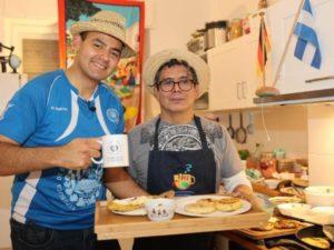 Speaker erzählen Geschichten - Travel Dinner: Zusammen kochen während des Live Cookings | QUERIDO MUNDO - Gruppenreisen nach Lateinamerika