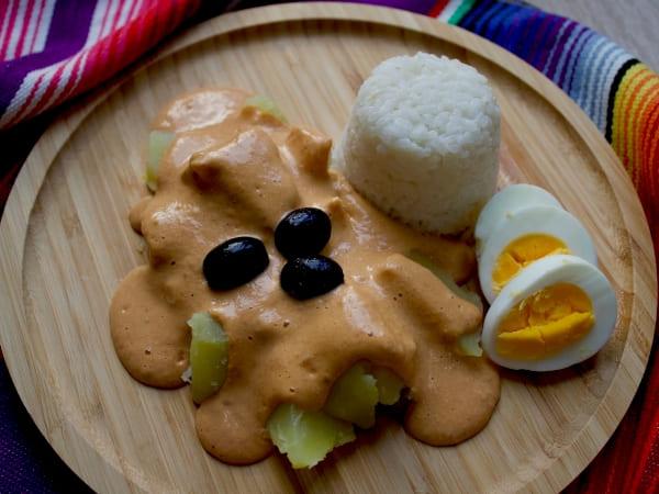 Beitragsbild: Aji de Gallina - Peruanisches Rezept | QUERIDO MUNDO